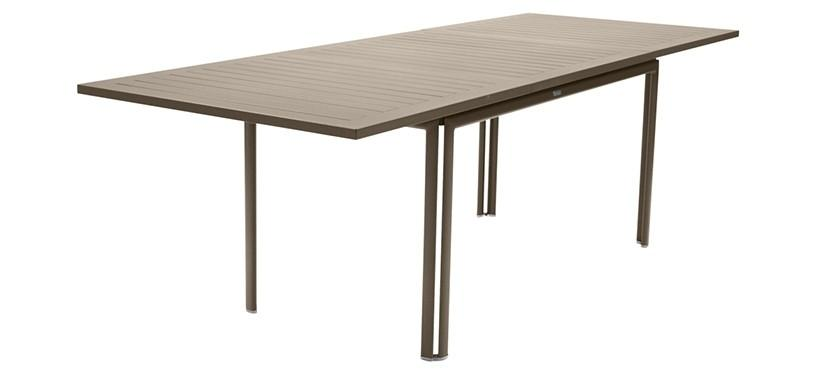 Fermob Costa Table with Extension · Nutmeg