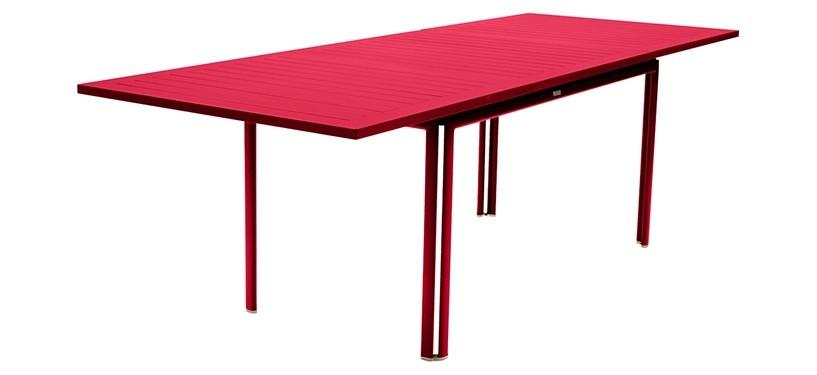 Fermob Costa Table with Extension · Pink Praline