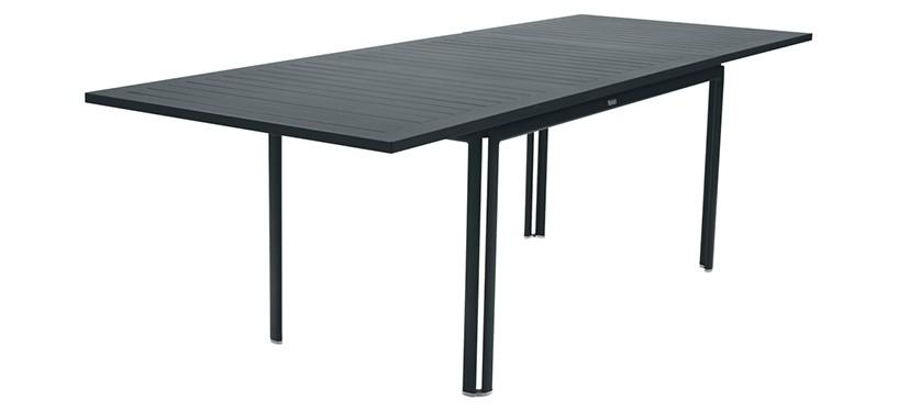 Fermob Costa Table with Extension · Storm Grey