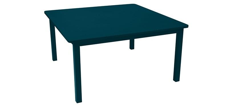Fermob Craft Table · Acapulco Blue