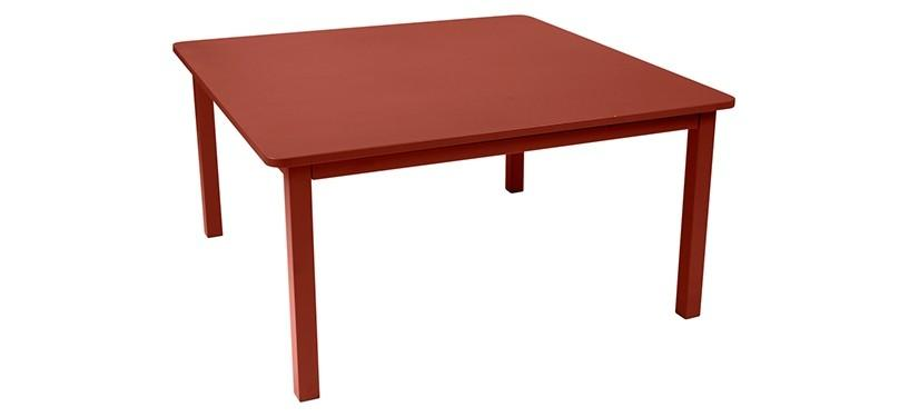 Fermob Craft Table · Red Ochre
