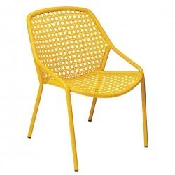 Fermob Croisette Armchair · Honey