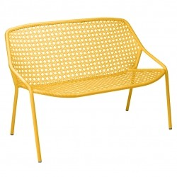 Fermob Croisette Bench · Honey