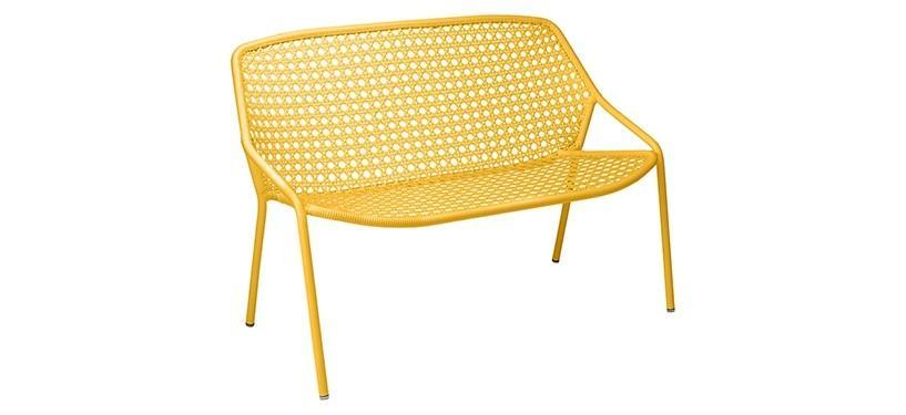 Fermob Croisette Bench · Honey