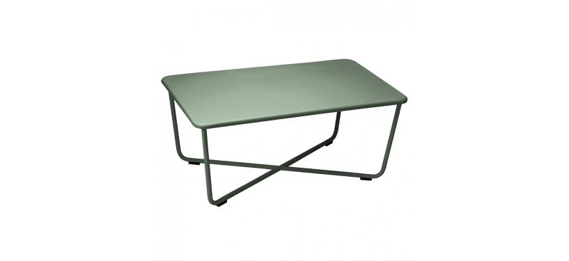 Fermob Croisette Low Table · Cactus
