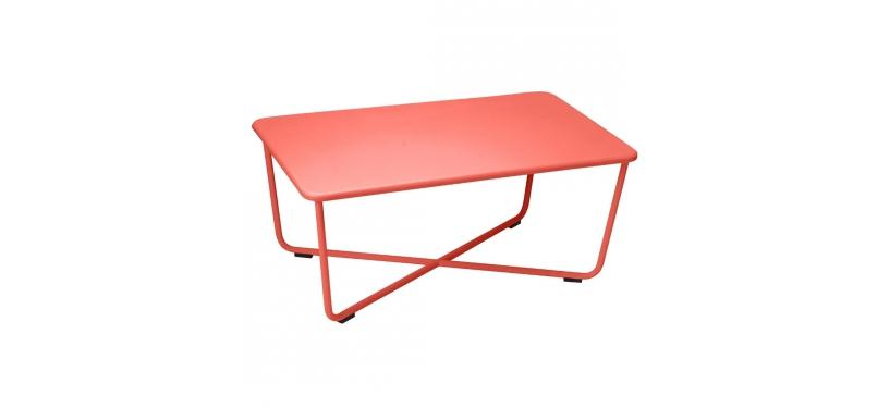 Fermob Croisette Low Table · Capucine