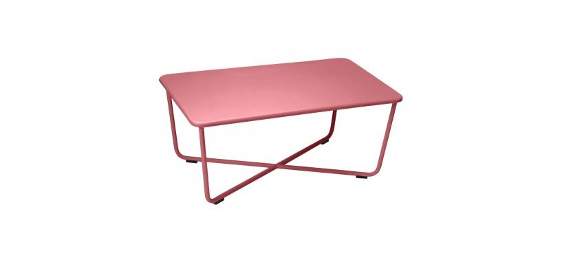 Fermob Croisette Low Table · Chili