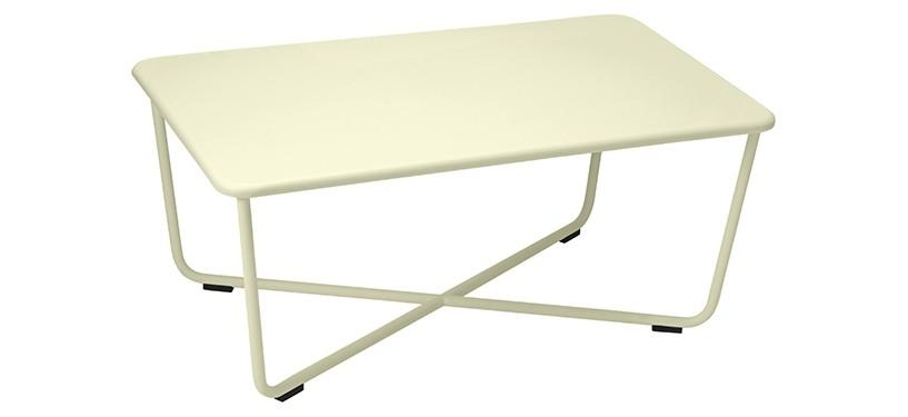 Fermob Croisette Low Table · Willow Green
