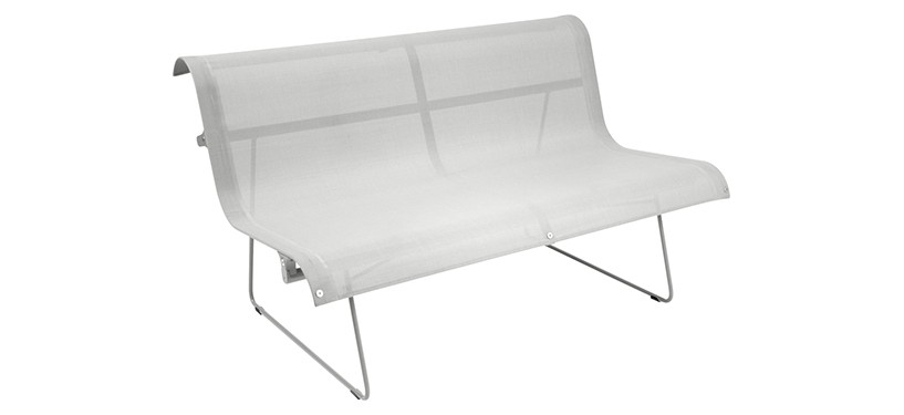 Fermob Ellipse Bench · Steel Grey
