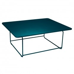 Fermob Ellipse Low Table · Acapulco Blue
