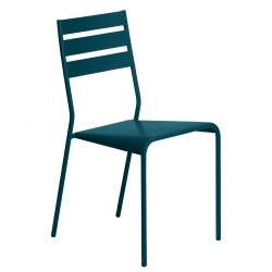Fermob Facto Chair · Acapulco Blue