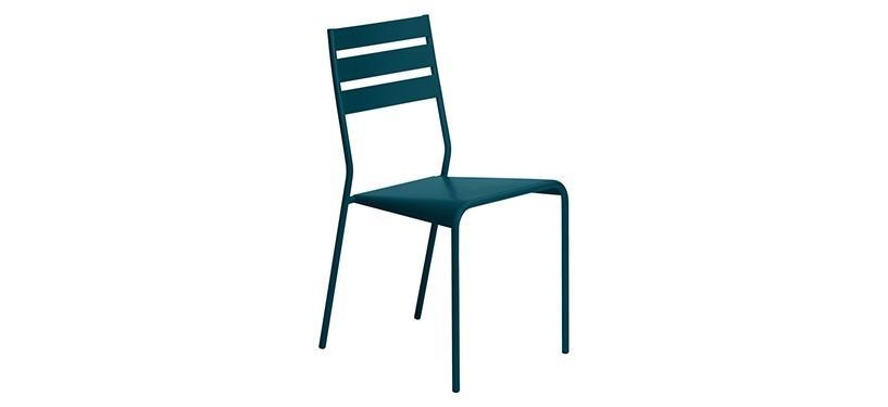Fermob Facto Chair · Acapulco Blue