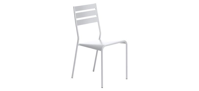 Fermob Facto Chair · Cotton White