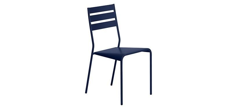 Fermob Facto Chair · Deep Blue