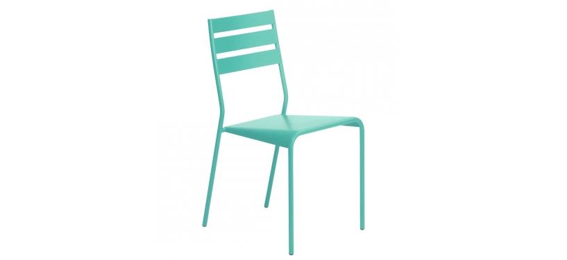 Fermob Facto Chair · Lagoon Blue