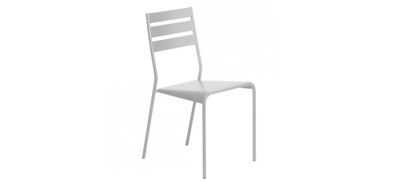 Fermob Facto Chair · Steel Grey