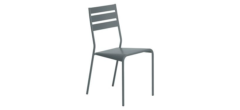 Fermob Facto Chair · Storm Grey