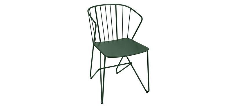 Fermob Flower Armchair · Cedar Green