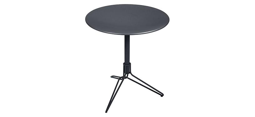 Fermob Flower Pedestal Table · Anthracite