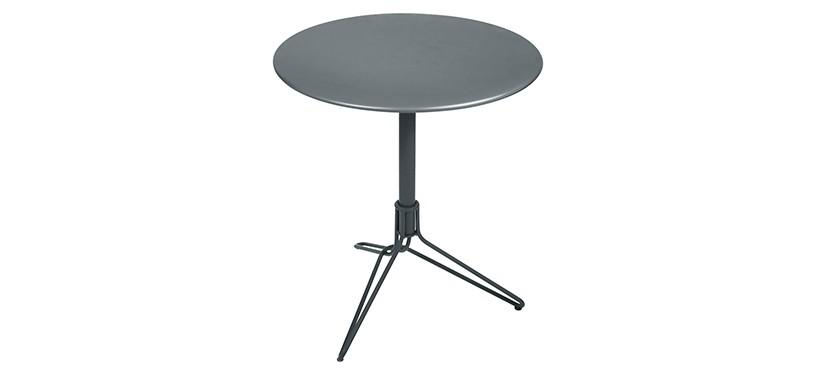 Fermob Flower Pedestal Table · Storm Grey