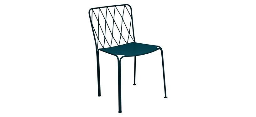 Fermob Kintbury Chair · Acapulco Blue