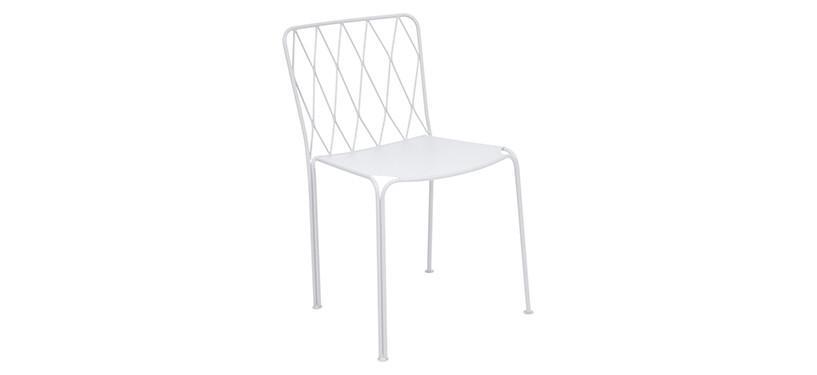 Fermob Kintbury Chair · Cotton White