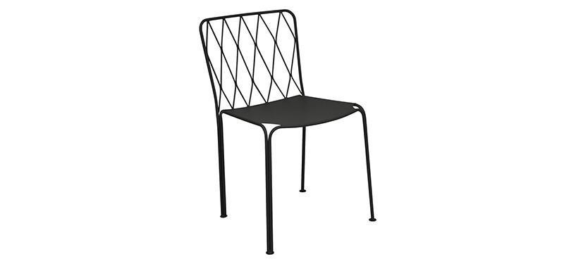 Fermob Kintbury Chair · Liquorice