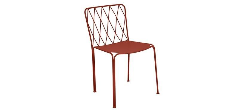 Fermob Kintbury Chair · Red Ochre