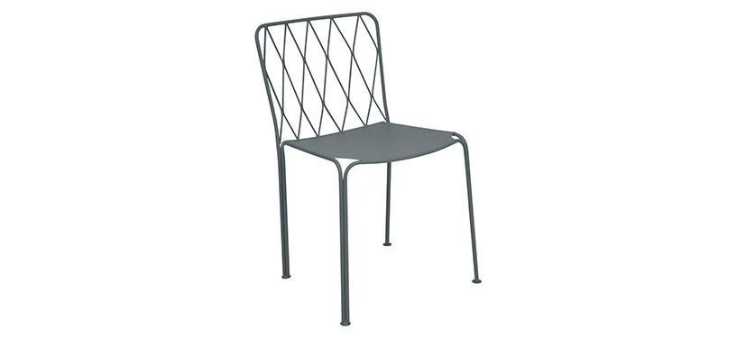 Fermob Kintbury Chair · Storm Grey