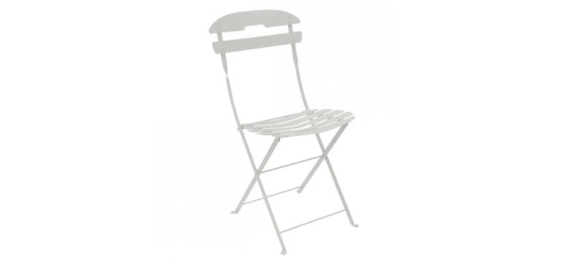 Fermob La Môme Chair · Steel Grey