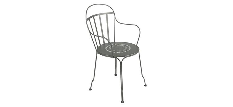 Fermob Louvre Armchair · Rosemary