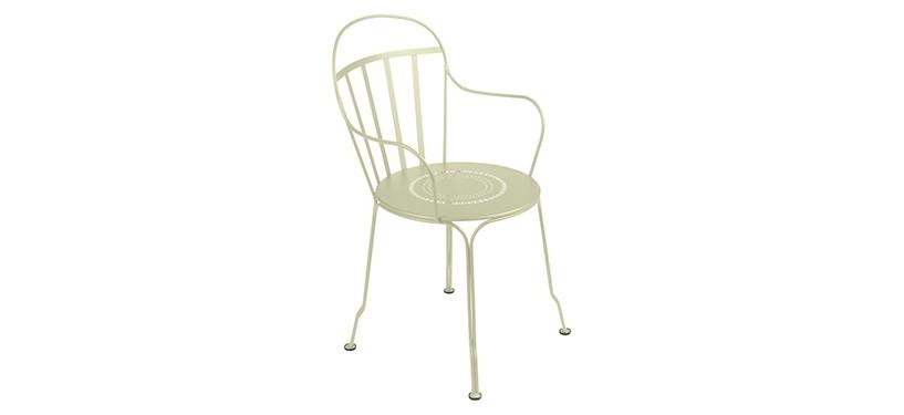 Fermob Louvre Armchair · Willow Green