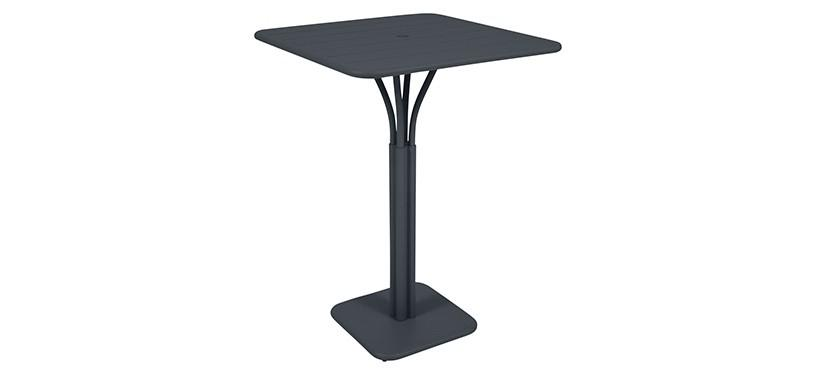 Fermob Luxembourg High Square Table · Anthracite