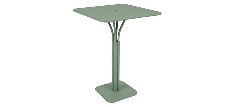 Fermob Luxembourg High Square Table · Cactus