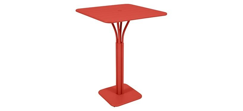 Fermob Luxembourg High Square Table · Capucine