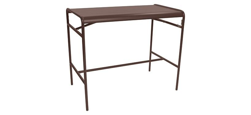 Fermob Luxembourg High Table · Russet