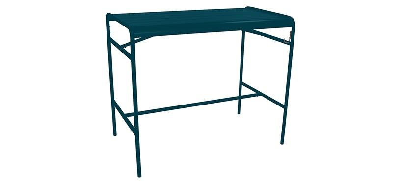 Fermob Luxembourg High Table · Acapulco Blue