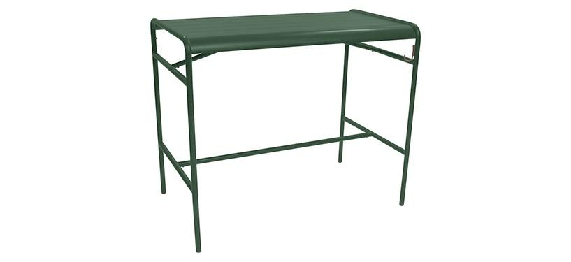 Fermob Luxembourg High Table · Cedar Green