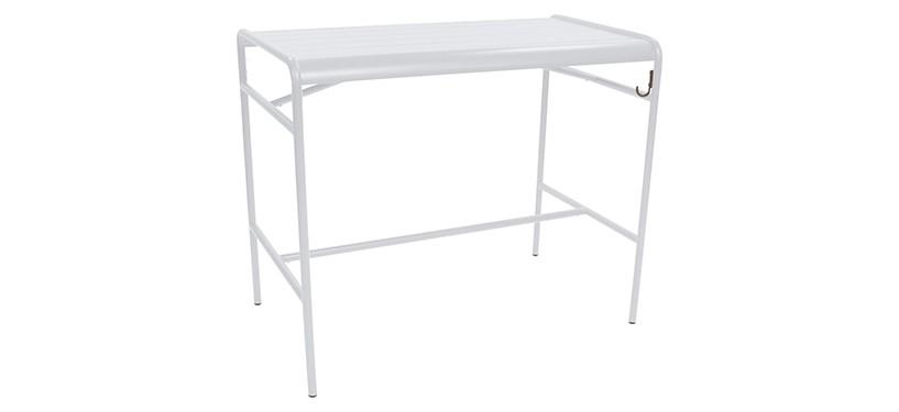 Fermob Luxembourg High Table · Cotton White