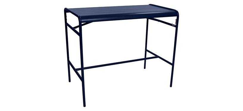 Fermob Luxembourg High Table · Deep Blue