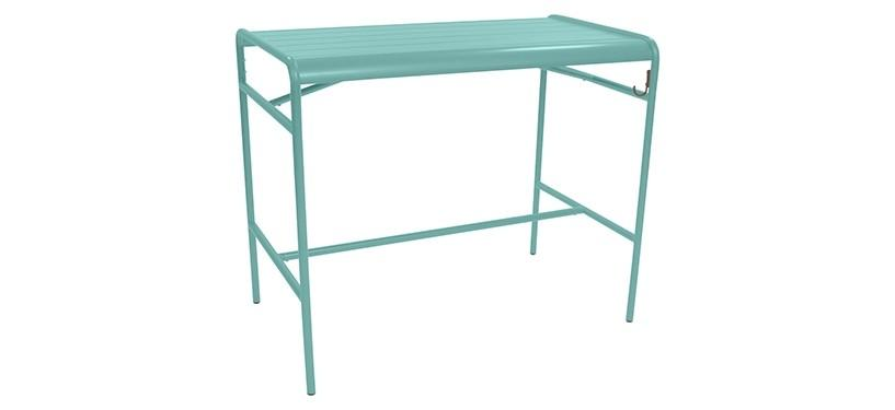 Fermob Luxembourg High Table · Lagoon Blue