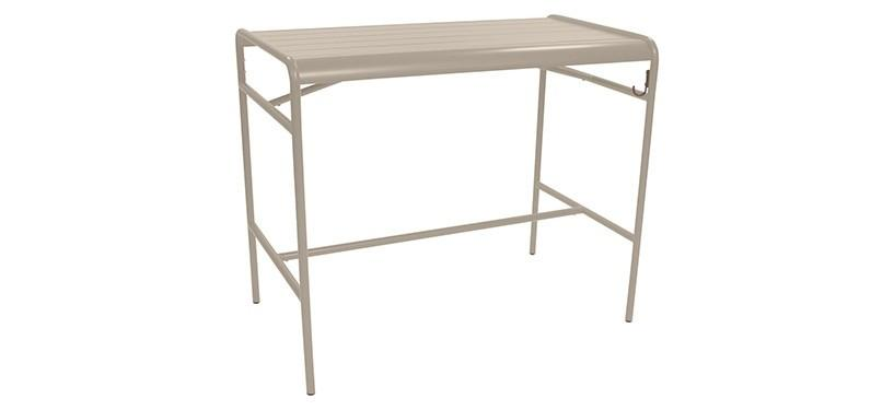 Fermob Luxembourg High Table · Nutmeg
