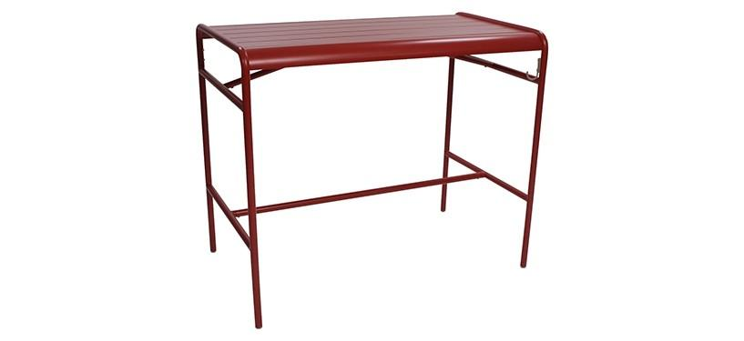 Fermob Luxembourg High Table · Poppy