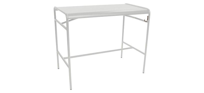 Fermob Luxembourg High Table · Steel Grey