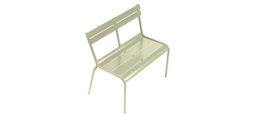 Fermob Luxembourg Kid Bench · Willow Green