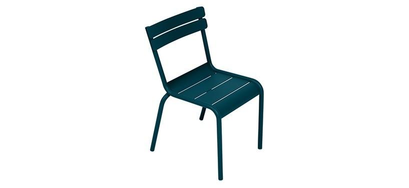 Fermob Luxembourg Kid Chair · Acapulco Blue