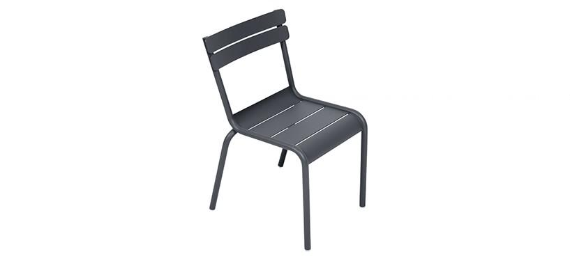 Fermob Luxembourg Kid Chair · Anthracite
