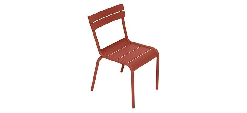 Fermob Luxembourg Kid Chair · Red Ochre