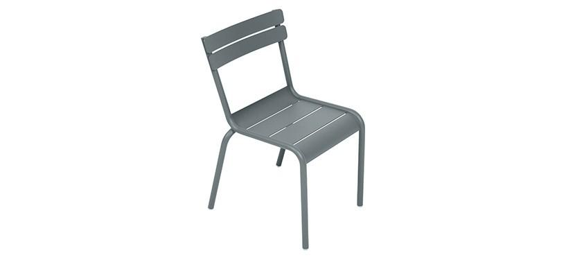 Fermob Luxembourg Kid Chair · Storm Grey