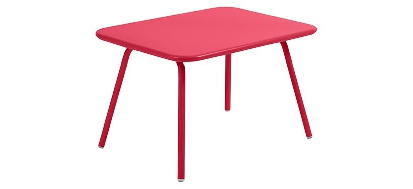 Fermob Luxembourg Kid Table · Pink Praline